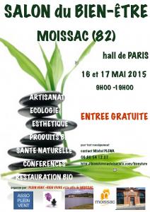 16 17 mai 2015 salon du bien tre moissac 82 for Salon bien etre paris