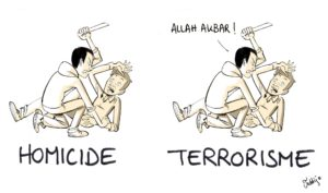 dessin humoristique sur le terrorisme