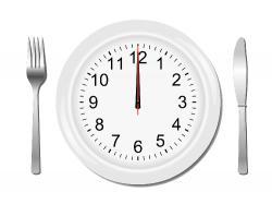 l'heure du repas