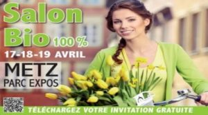 Salon bio à Metz du 17 au 19 avril 2015