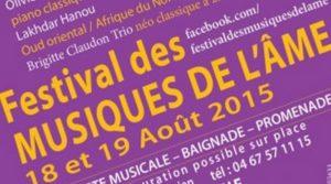 18-19 Août 2015 : Festival des musiques de l'Âme, à Saint Jean de Fos