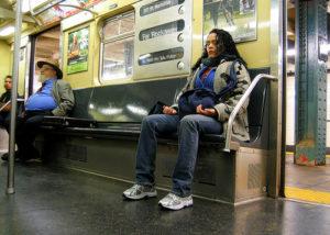 méditer dans le métro