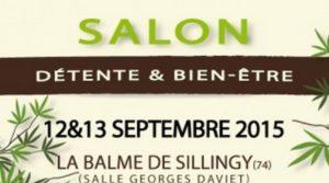 12-13 Septembre 2015 : Salon du Bien-Être à La Balme de Sillingy