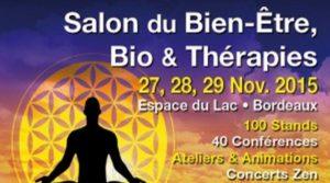 27-29 Novembre 2015 : Salon Bien-Être à Bordeaux