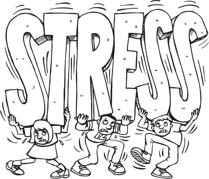 pression societe stress