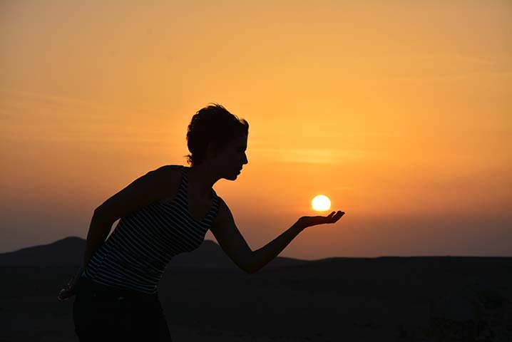Comment bien méditer au soleil : été, bougez, vivez
